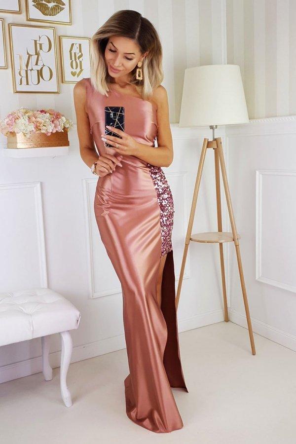 Bicotone wieczorowa sukienka 2203-12