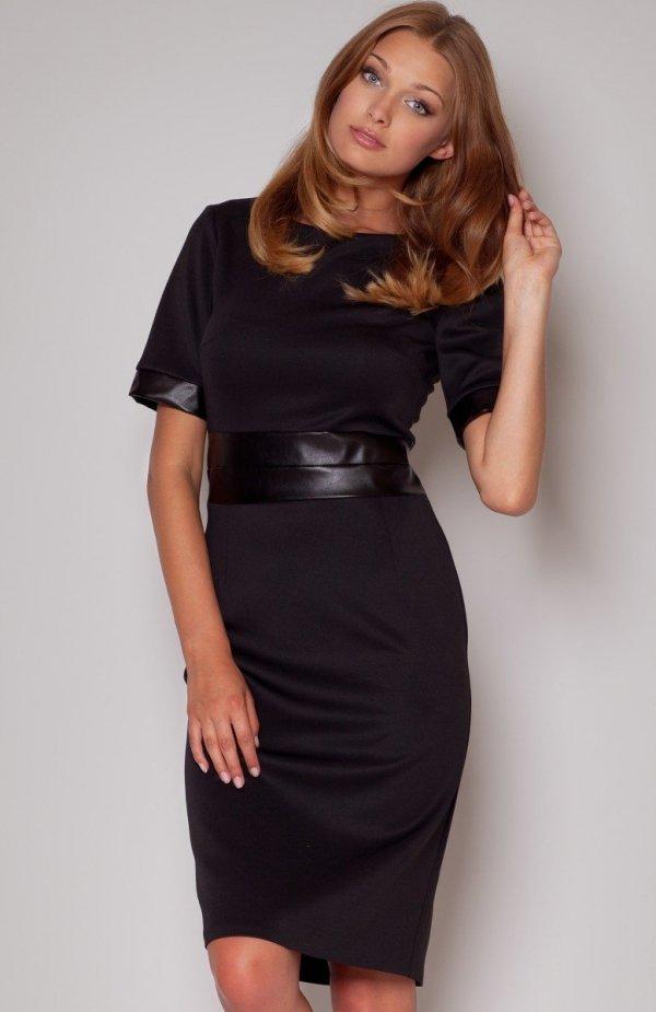 Figl M204 sukienka czarna