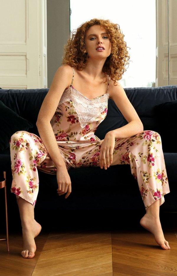 Satynowa piżama damska DK-KC 004