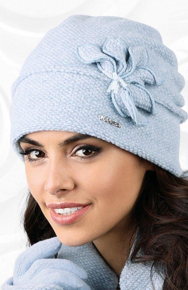 Kamea Modena czapka błękitny