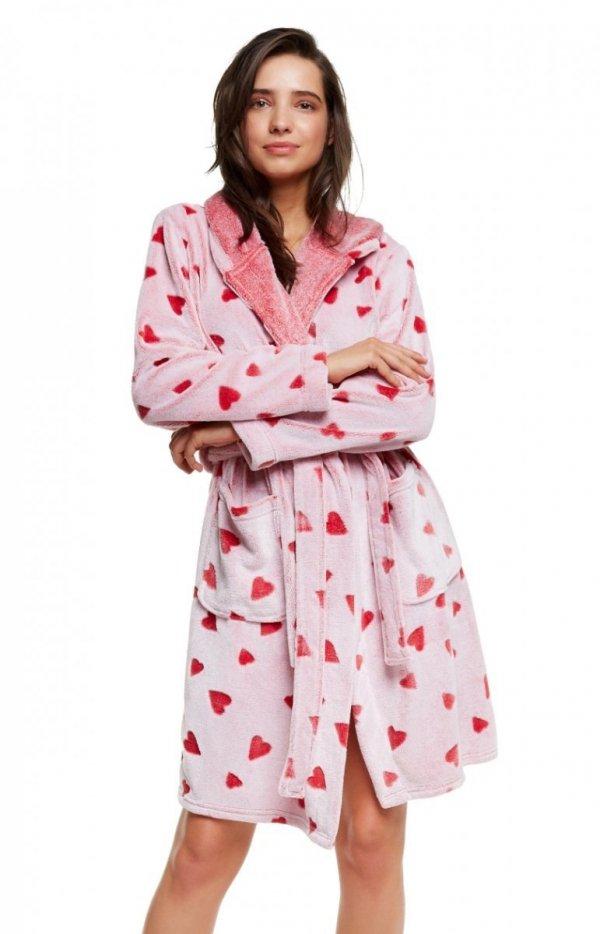 Henderson Ladies Szlafrok Hearty 37513-33X Czerwony
