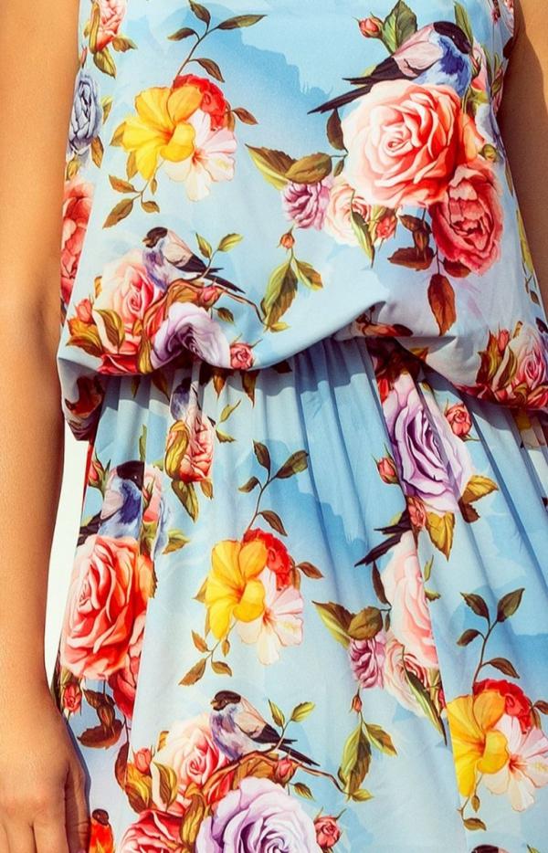 Długa sukienka w kwiaty Numoco 191-5_1