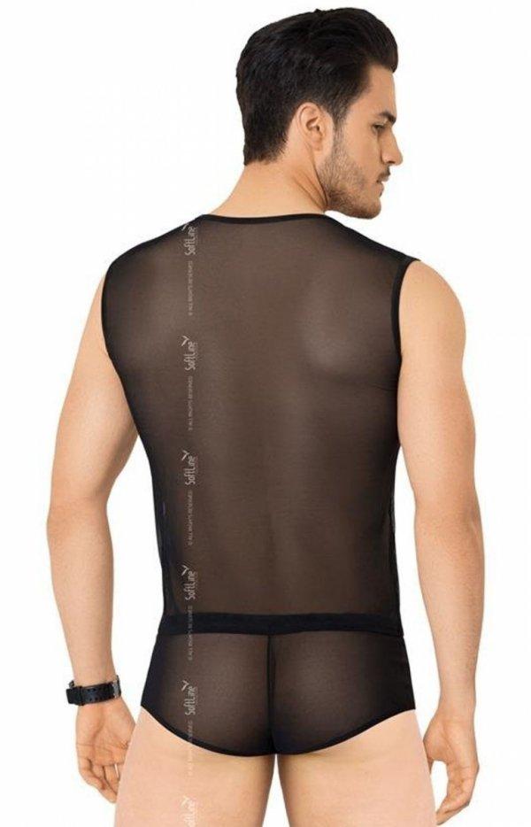 Softline koszulka i szorty męskie 4605 tył