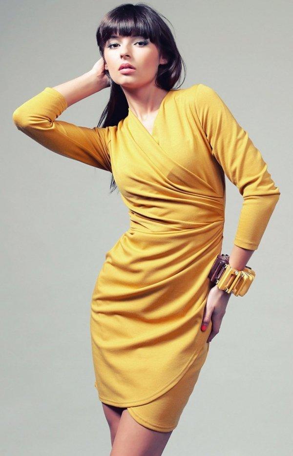 Vera Fashion Rebeka sukienka miodowa