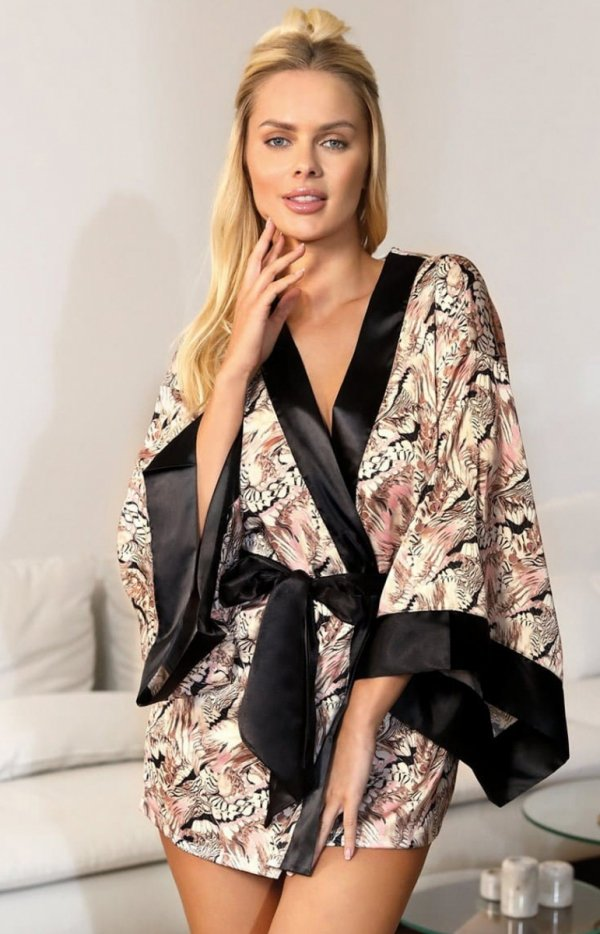 Unikat kimonowy szlafrok Fatina