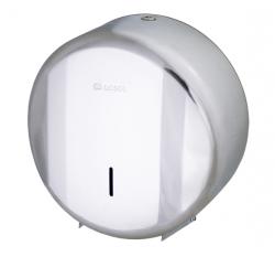 Pojemnik (podajnik) Losdi CO 0207 I na papier toaletowy w rolkach wykonany ze stali nierdzewnej, wandaloodporny