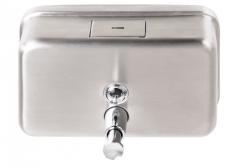 Poziomy dozownik (dystrybutor) mydła w płynie metalowy SD1000MBH pojemność 1litr
