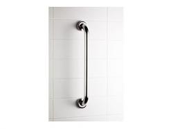 Prosty uchwyt łazienkowy Bisk Masterline PRO 04781 400 mm - atestowana poręcz łazienkowa
