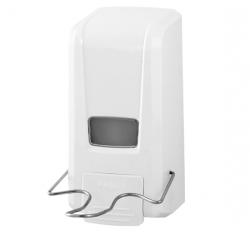 Dozownik (dystrybutor) łokciowy do płynów dezynfekcyjnych i mydła w płynie SBD074-EB 1 litr z tworzywa ABS