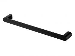 Kąpielowy wieszak łazienkowy Bisk Futura Black 02966 metalowy