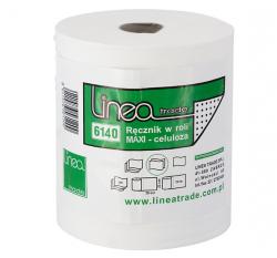 Ręczniki papierowe w roli maxi Linea Trade 6140 Ø 180 mm 2-warstwowe białe
