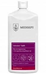 Medisept Velodes Soft Płyn do higienicznej i chirurgicznej dezynfekcji rąk 500 ml