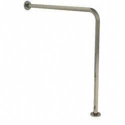 Poręcz prosta dla niepełnosprawnych typu ściana-podłoga Faneco S32UUWCW7 SN M 70x70 cm stal nierdzewna