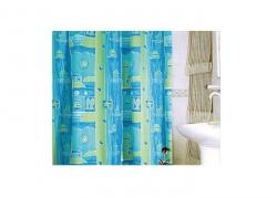 Zasłona prysznicowa tekstylna Bisk NAUTIC 08310