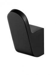 Wieszaczek łazienkowy Bisk Futura Black 02965 metalowy