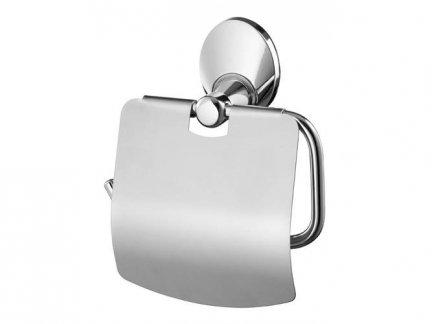 Metalowy uchwyt WC Bisk Emotion 03106 na papier toaletowy w rolce
