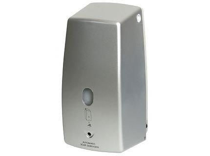 Automatyczny bezdotykowy dozownik (dystrybutor) mydła w płynie Bisk Masterline (00589) 0,5 litra z tworzywa ABS
