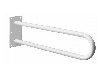 Poręcz stała łazienkowa Bisk Masterline PRO 05498 600 mm biała - atestowana poręcz łazienkowa