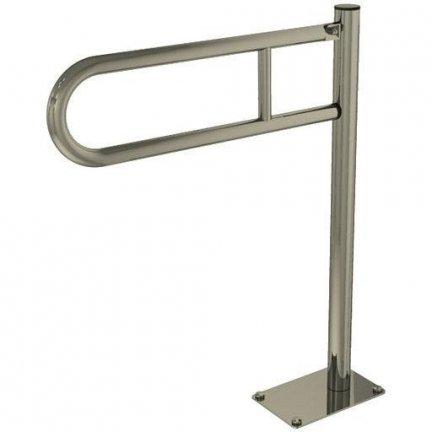 Poręcz przysedesowa stała dla niepełnosprawnych Faneco S32UUWCW7 70 cm stal nierdzewna
