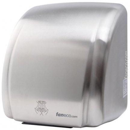 Suszarka do rąk Faneco Leste 2100W (D2100SCB), automatyczna, srebrna ze stali nierdzewnej