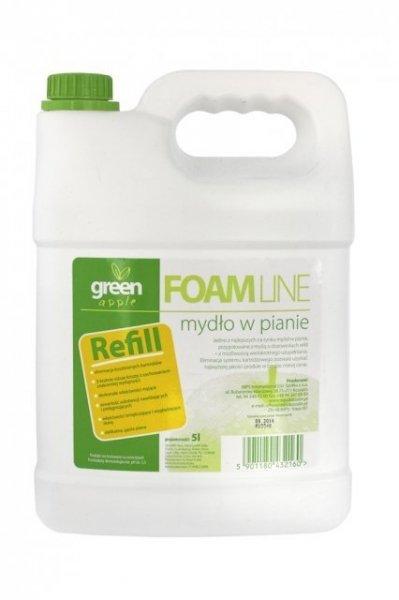 MPS Foam Line Green Apple 5l luksusowe mydło w pianie