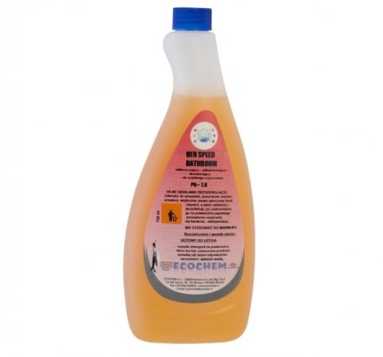 Odświeżający środek do mycia i czyszczenia powierzchni sanitarnych - LT 1000 -DEO SPEED BATHROOM