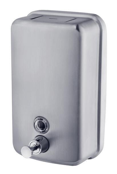 Dozownik (dystrybutor) mydła w płynie metalowy SD1000MB pojemność 1litr