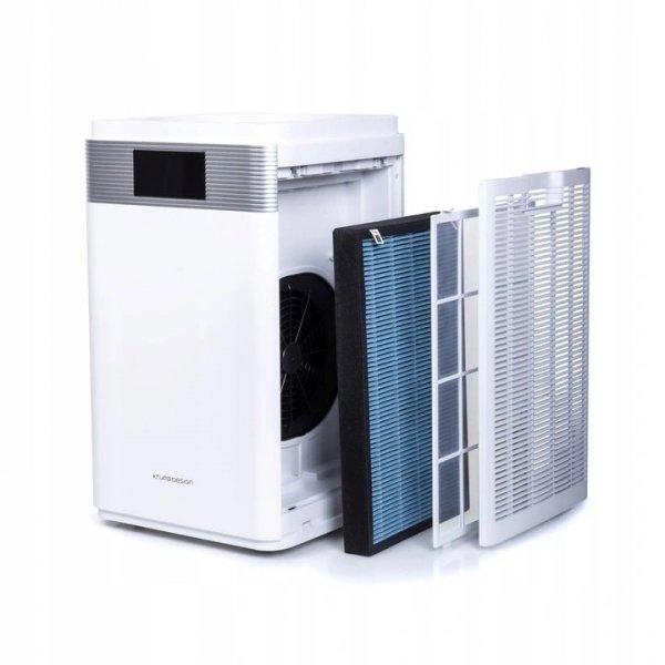 Oczyszczacz powietrza OP-002 z jonizatorem do 72m2 - zestaw filtrów