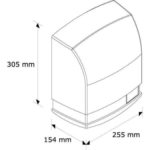 Automatyczna suszarka do rąk Merida Prima M96A 1650W