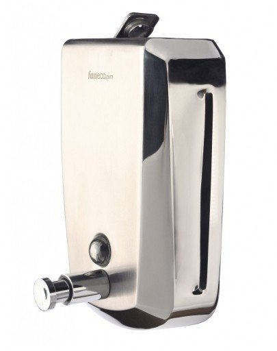 Dozownik (dystrybutor) mydła w płynie Faneco Hit (SA1000SB-B) 1 litr ze stali nierdzewnej