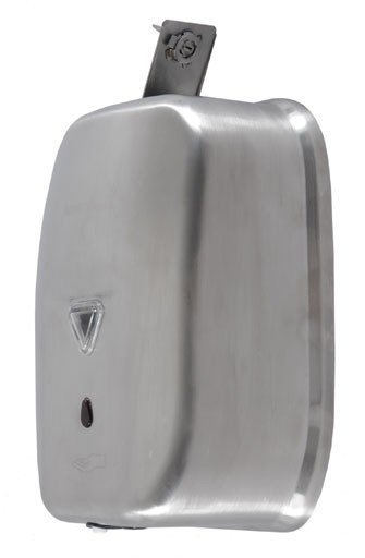 Automatyczny bezdotykowy dozownik (dystrybutor) mydła w płynie Faneco Lab (S1200SD-B) 1,2 litra ze stali nierdzewnej