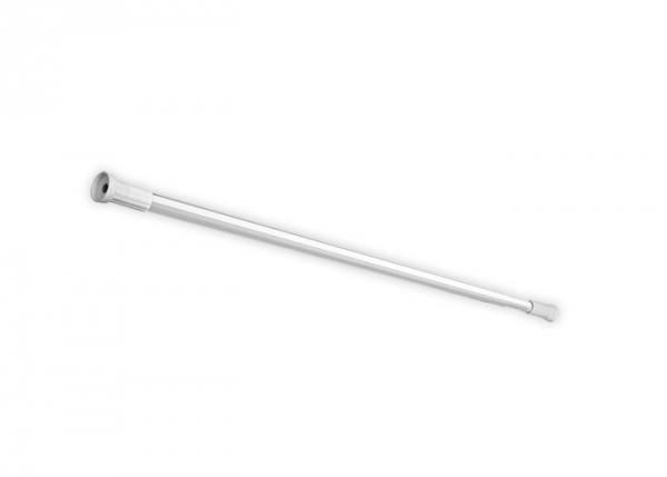 Drążek rozporowy Bisk 72402 aluminium 125x220 cm do załon prysznicowych