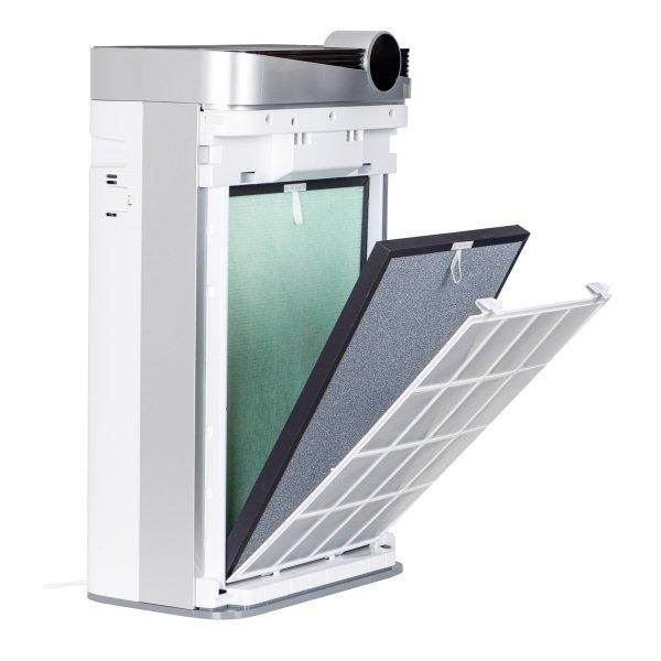 Sanjo oczyszczacz powietrza z nawilżaczem OP-012 do 65 m2 jonizator, lampa UV