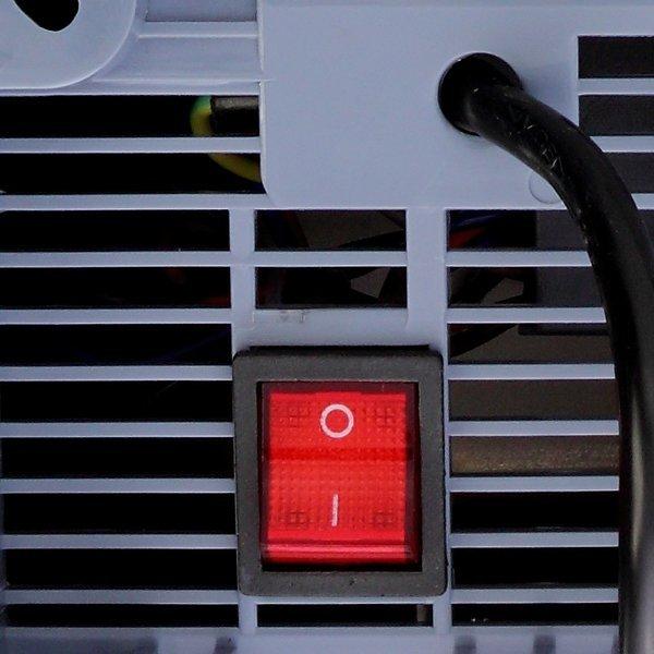 Suszarka do rąk Sanjo APUS 1650 W RS-S1 stalowa matowa tryb ECO