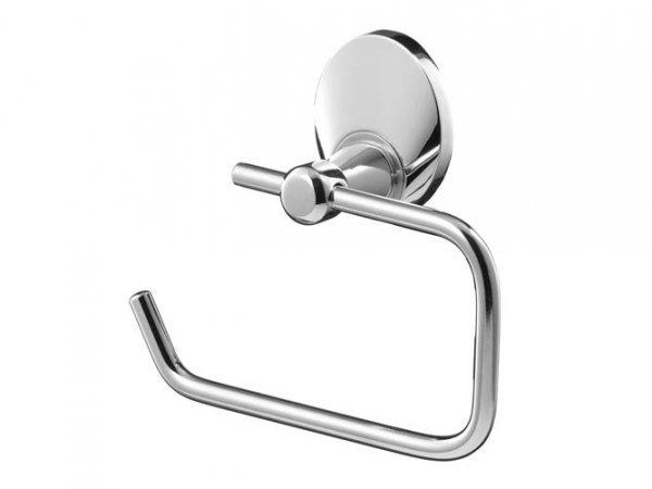 Metalowy uchwyt WC Bisk Emotion 03105 na papier toaletowy w rolce