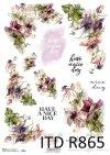 inskrypcje, napisy, have a nice day, kwiaty, polne kwiaty, R865