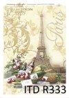 martwa natura, Paryż, wieża Eiffla, wino, butelka, jabłka, piknik, ornamenty roślinne,