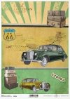 El papel de arroz viejo coche, viajando por los Estados*Rýžový papír staré auto, cestuje po celém United*Reispapier altes Auto, Reisen rund um die Vereinigten