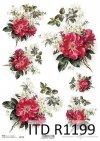 Papier ryżowy kwiaty, dzika róża, bukiety*Rice paper flowers, wild rose, bouquets
