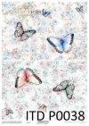 papier decoupage kompozycje kwiatowe, róże, koronka*decoupage paper flower arrangements, roses, lace