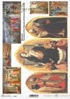Papier ryżowy z ikonami, obrazy religijne Masaccio * Rice paper with icons, religious images - Masaccio