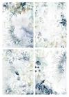 Papiery do scrapbookingu w zestawach - Kraina lodowej porcelany * Set of scrapbooking papers - The land of ice porcelain