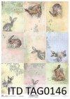papier do scrapbookingu, wielkanocne tagi, zawieszki*scrapbooking paper, Easter tags, pendants