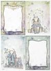 Zestaw kreatywny na papierze ryżowym - Aniołkowo dziewczyny i chłopaki * Creative set on rice paper - Angel girls and boys