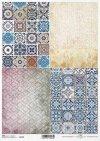 papel decoupage Vintage, azulejos coloridos, fondos, fondos de escritorio*Vintage-Decoupage-Papier, bunte Fliesen, Hintergründe, Tapeten*старинная бумага для декупажа, красочные плитки, фоны, обои