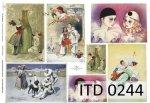 Papier decoupage ITD D0244M