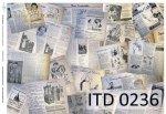 бумага для декупажа классическая D0236
