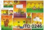 Papier decoupage ITD D0246M