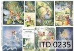 Papier decoupage ITD D0235M