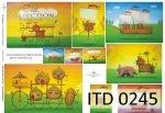 Papier decoupage ITD D0245M